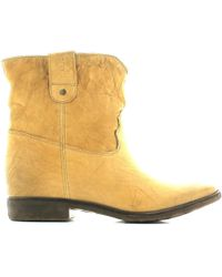 GAUDI - V43 60520 Ankle Boots Women Taupe Women's Mid Boots In Grey - Lyst