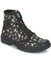 Palladium - Pampa Hi P Women's Mid Boots In Black - Lyst