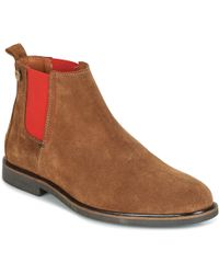 Faguo - Cork02 Men's Mid Boots In Brown - Lyst