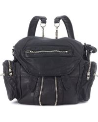 Alexander Wang - Zaino Mini Marti In Pelle Nera Men's Backpack In Black - Lyst