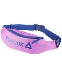 Reebok - Found Waistbag Men's Hip Bag In Purple - Lyst