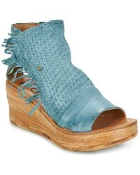 A.S.98 - Noa Women's Sandals In Blue - Lyst