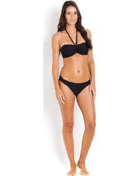 Seafolly Bikini Bottom , , Black - Shimmer Women's In Black