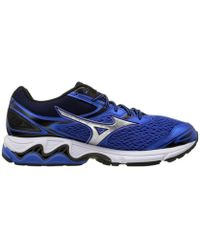 Mizuno - Wave Inspire 13 Men's Running Trainers In Blue - Lyst