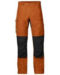 Fjallraven - Barents Pro Men's Trousers In Black - Lyst