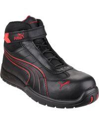 840757fd1c7 Puma Cascades Men s Walking Boots In Black in Black for Men - Lyst