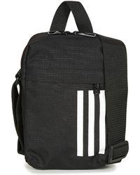 Adidas 3s Organizer Men s Pouch In Black in Black for Men - Lyst 373ea92b6d