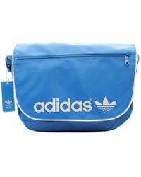 Adidas Ac Messenger Men s Messenger Bag In Blue in Blue for Men - Lyst fe07d4095a