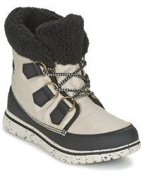 Sorel - Cozy Carnival Women's Mid Boots In Grey - Lyst