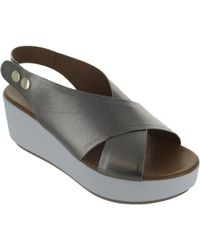 Inuovo - 8697 Women's Sandals In Silver - Lyst
