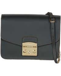 a33a307e1f55 Furla - Metropolis S Crossbody Women s Shoulder Bag In Black - Lyst
