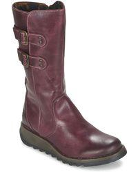 Fly London - Suli/rug Women's Mid Boots In Purple - Lyst