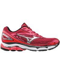 Mizuno - Wave Inspire 13 Women's Running Trainers In Red - Lyst