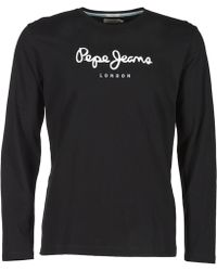 Pepe Jeans - Eggo Long Sleeved Top - Lyst