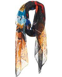 Desigual - Mecup Women's Scarf In Multicolour - Lyst