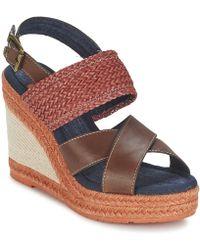 Napapijri - Belle Women's Sandals In Brown - Lyst
