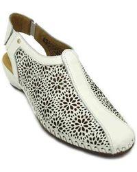 0dd8d2c31e10e7 Pikolinos - Romana 696-1662 Women s Sandals Women s Sandals In White - Lyst