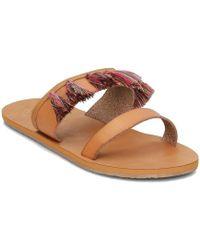 Roxy - Arjl200649 Women's Mules / Casual Shoes In Brown - Lyst