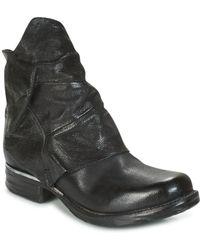 A.S.98 - Saint Metal Women's Mid Boots In Black - Lyst