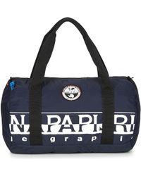 Napapijri - Bering Pack Small Men's Travel Bag In Blue - Lyst