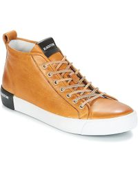 Blackstone - Qm99 Men's Shoes (trainers) In Brown - Lyst