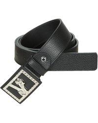 Lyst - Ceinture à boucle logo Versace Jeans pour homme en coloris Noir 1a47c0c7d1f