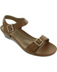 Vionic - Port Frances Women's Sandals In Brown - Lyst