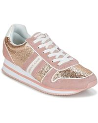 Versace Jeans - Stella Vrbsa1 Women's Shoes (trainers) In Pink - Lyst