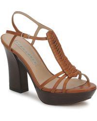 9b77785f25 Pura López - Honour Women's Sandals In Brown - Lyst