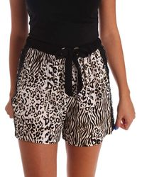 GAUDI - 73fd25205 Shorts Women Black Women's Shorts In Black - Lyst