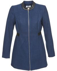 Vero Moda - Capella Women's Coat In Blue - Lyst