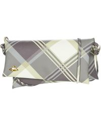 Vivienne Westwood - Derby 7228v Women's Shoulder Bag In Grey - Lyst