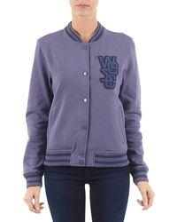 Wesc - Laika Women's Jacket In Purple - Lyst