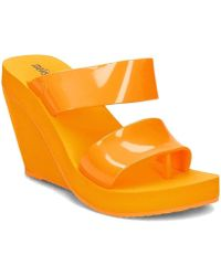 Melissa - Summer High Women's Flip Flops / Sandals (shoes) In Yellow - Lyst