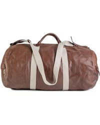 Jérôme Dreyfuss - Handbag Arnaud L Men's Travel Bag In Brown - Lyst