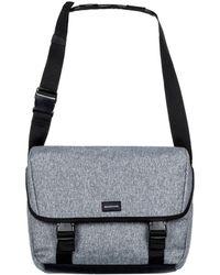 Quiksilver - Carrier Men's Messenger Bag In Grey - Lyst