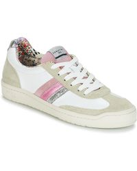 Serafini - Court Women's Shoes (trainers) In White - Lyst