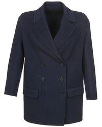 In Dobble Joseph Blue Coat Women's Lyst wYxqgaC