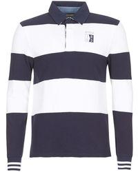 Aigle - Jifurpolo Men's Polo Shirt In Blue - Lyst