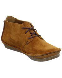 Clarks - Janey Lynn Women's Mid Boots In Brown - Lyst