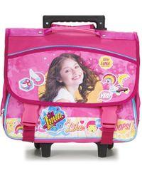 Disney - Soy Luna Cartable Trolley 38cm Girls's Children's Rucksack In Pink - Lyst
