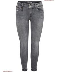 ONLY - Vaquero Women's Skinny Jeans In Grey - Lyst