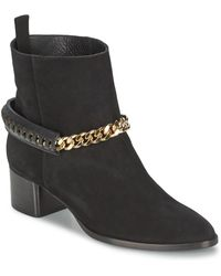 Roberto Cavalli - Yps542-pc519-05051 Women's Low Ankle Boots In Black - Lyst