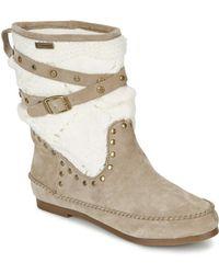 Les Tropéziennes Par M Belarbi - Gelato Women's Sandals In Beige - Lyst