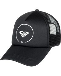 Roxy - Truckin - Gorra Trucker Para Mujer Erjha03315 Kvj0 Women's Cap In Black - Lyst