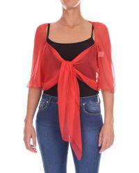 Alberta Ferretti - A02271615 femmes Blouses en rouge - Lyst