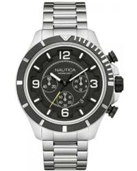 Nautica - Horloge Men's In Black - Lyst