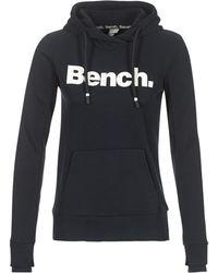 Bench - Blwe001656 Women's Sweatshirt In Black - Lyst