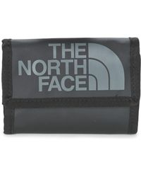 The North Face - Base Camp Wallet Men's Purse Wallet In Black - Lyst