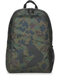 Converse - Speed Backpack Star Chevron Men's Backpack In Green - Lyst